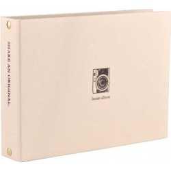 Фото подарки - Fujifilm Instax альбом Mini 2-кольца, золотой - купить сегодня в магазине и с доставкой