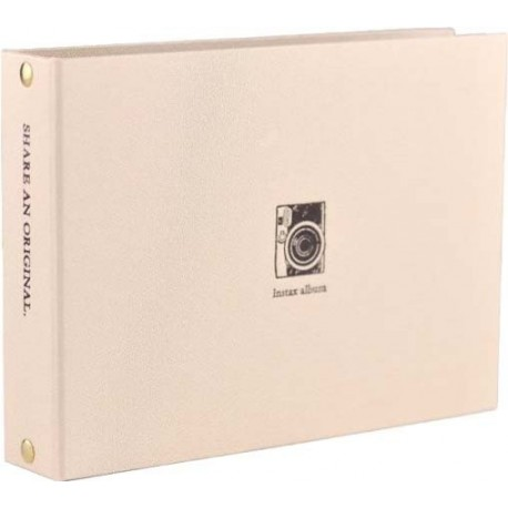 Photography Gift - Fujifilm Instax album Mini 2-ring, gold - buy today in store and with delivery