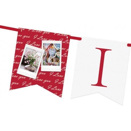 Фото подарки - Fujifilm Instax венок I Love You - быстрый заказ от производителя