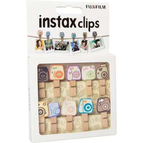 Dāvanas - Fujifilm Instax stiprinājuma klipši Design Clips Camera 10pcs - perc šodien veikalā un ar piegādi
