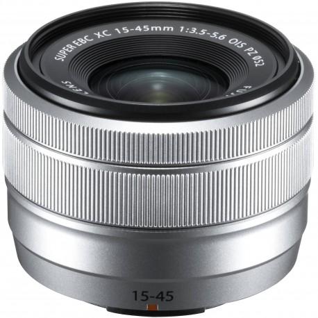 Объективы - Fujifilm Fujinon XC 15-45 мм f/3.5-5.6 OIS PZ объектив, серебряный - быстрый заказ от производителя