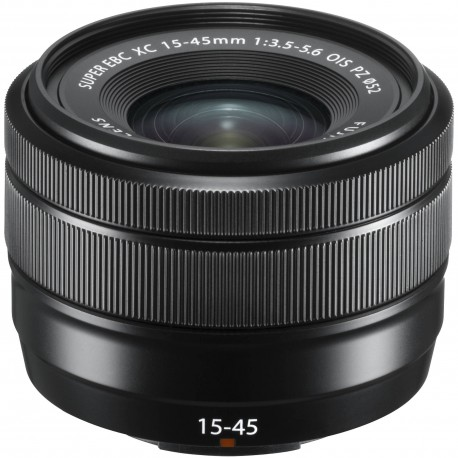 Lenses - Fujifilm Fujinon XC 15-45mm f/3.5-5.6 OIS PZ lens, black - quick order from manufacturer