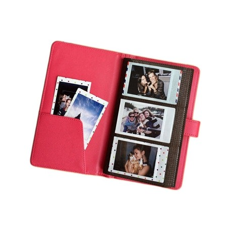 Photography Gift - Fujifilm Instax album Laporta Mini 120, pink - quick order from manufacturer