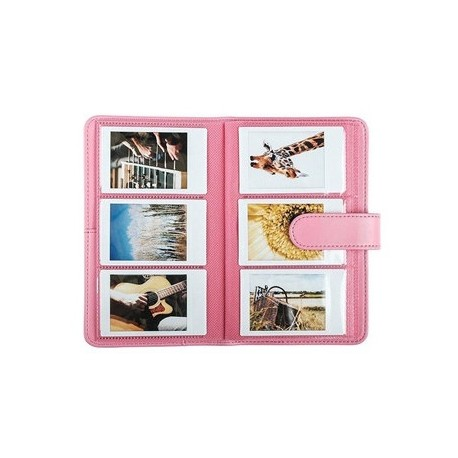 Photography Gift - Fujifilm Instax album Laporta Mini 108, flamingo pink - quick order from manufacturer