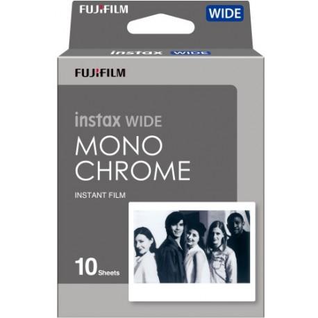 Картриджи для инстакамер - Fujifilm Instax Wide 1x10 Monochrome 70100139612 - купить сегодня в магазине и с доставкой