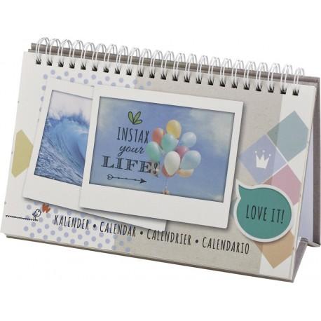 Фото подарки - Fujifilm Instax Wide calendar 13 photos - быстрый заказ от производителя