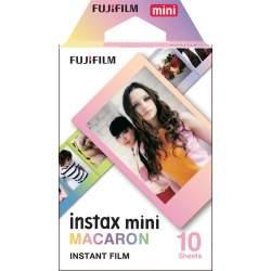 Instantkameru filmiņas - Fujifilm Colorfilm Instax Mini Macaron (10PK) - perc šodien veikalā un ar piegādi