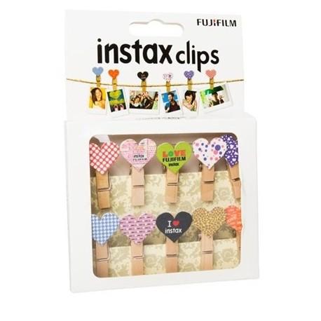 Фото подарки - Fujifilm Instax Design Clips Heart 10pcs - купить сегодня в магазине и с доставкой