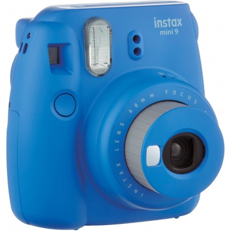 Instant Cameras - Fujifilm instax mini 9 cobalt blue instant camera+instax glossy 10pcs + soma - quick order from manufacturer