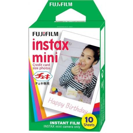 Instantkameru filmiņas - FUJIFILM Colorfilm instax mini GLOSSY (10PK) - perc šodien veikalā un ar piegādi