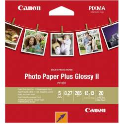 Photo paper - Canon photo paper PP-201 13x13 glossy 265g 20 sheets - quick order from manufacturer