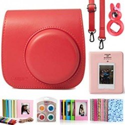 Pouches - Fujifilm Instax Mini 9 case, poppy red - quick order from manufacturer