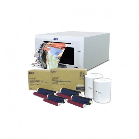 Printeri - DNP Dye Sub Printer DS620 with 2 boxes 10x15 media - perc veikalā un ar piegādi