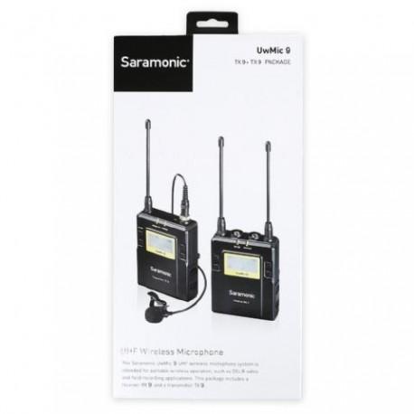 Mikrofoni - SARAMONIC UWMIC9 (TX9+RX9) - perc šodien veikalā un ar piegādi
