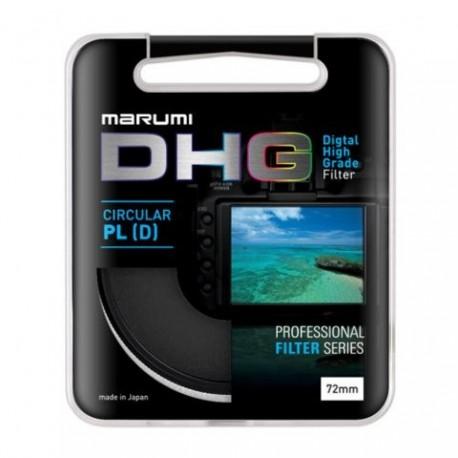 CPL polarizācijas filtri - Marumi Filter DHG Circ. Pola 49mm - perc šodien veikalā un ar piegādi