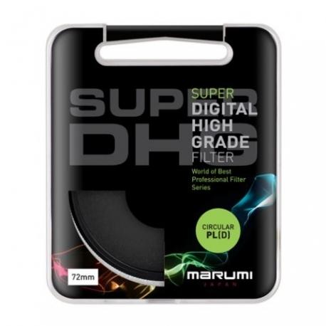 Objektīvu filtri CPL - Marumi Circ. Pola Filter Super DHG 62mm - ātri pasūtīt no ražotāja