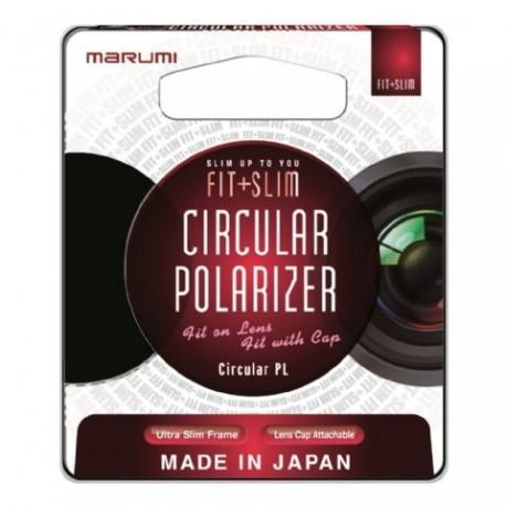 Objektīvu filtri CPL - Marumi Slim Fit Circ. Pola Filter 58mm - ātri pasūtīt no ražotāja