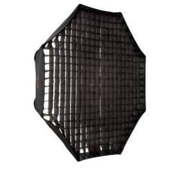 Softboksi - Falcon Eyes Octabox 120 cm + Honeycomb Grid FER-OB12HC - perc šodien veikalā un ar piegādi