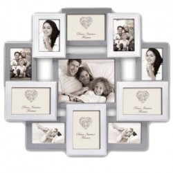 Dāvanas - Zep Wooden Collage Photo Frame HH151 Roven for 11 Photos - ātri pasūtīt no ražotāja