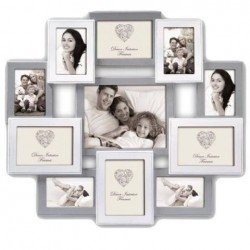 Photography Gift - Zep Wooden Collage Photo Frame HH151 Roven for 11 Photos - quick order from manufacturer