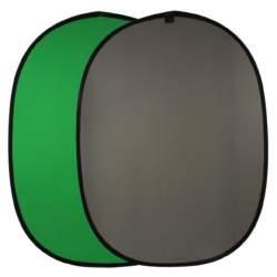 Foto foni - Falcon Eyes Background Board BCP-10-03 Green/Grey 148x200 cm - perc šodien veikalā un ar piegādi