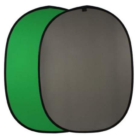 Фоны - Falcon Eyes Background Board BCP-10-03 Green/Grey 148x200 cm - купить сегодня в магазине и с доставкой