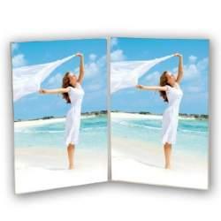 Dāvanas - Zep Double Photo Frame 730257 Acrylic Doppie 2x 13x18 cm - ātri pasūtīt no ražotāja