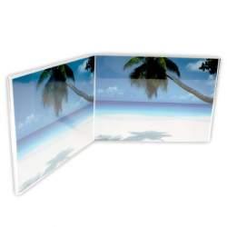 Dāvanas - Zep Double Photo Frame 730264 Acrylic Doppie 2x 15x10 cm - ātri pasūtīt no ražotāja