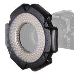 Makro aksesuāri - StudioKing Macro LED Ring Lamp Dimmable RL-160 - ātri pasūtīt no ražotāja