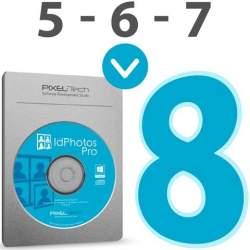 Фото на документы и ID фото - Pixel-Tech IdPhotos Upgrade incl 1 year license - быстрый заказ от производителя