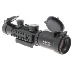 Optiskie tēmekļi - Konus Rifle Scope Konuspro AS-34 2-6x28 - ātri pasūtīt no ražotāja