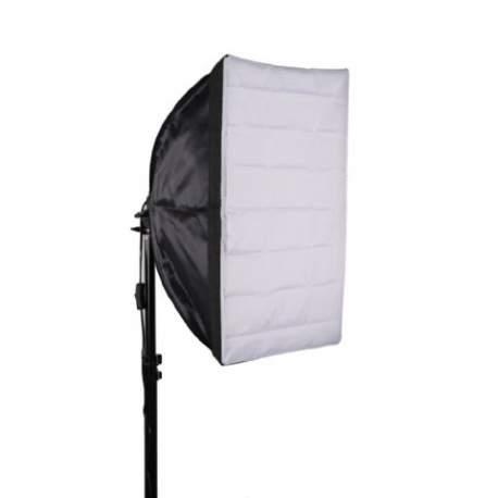 Fluorescējošās - StudioKing Daylight Kit SB07 1x45W - perc šodien veikalā un ar piegādi