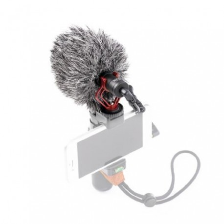 Микрофоны - Boya Universal Compact Shotgun Microphone BY-MM1 - купить сегодня в магазине и с доставкой