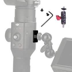 Stabilizatoru aksesuāri - RS-M01 DJI RONIN S Qucik Release Mounting Board Plate+mini bean magic arm - perc šodien veikalā un ar piegādi