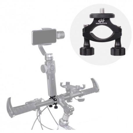 Turētāji - BIKEGC Bicycle Clamp mount for smartphone/action camera gimbal& action camera - perc šodien veikalā un ar piegādi