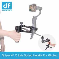 Accessories for stabilizers - SNIPER 4th Z Axis Spring Single handle DJI Ronin-S Crane 2 Crane Plus Moza Feiyu - buy today in store and with delivery