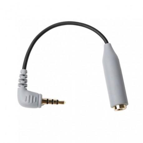 Mikrofonu aksesuāri - Boya Smartphone Adapter BY-CIP for iOS and Android - perc šodien veikalā un ar piegādi