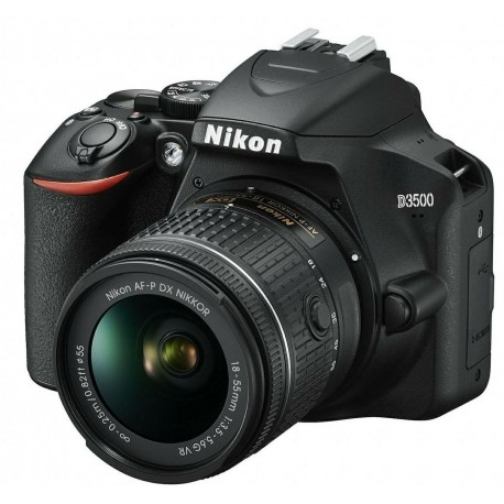 Photo DSLR Cameras - Nikon D3500 AF-P DX 18-55 VR DSLR kit - buy in store and with delivery