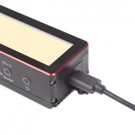 Video LED - Aputure AL-MW waterproof LED Light CRI TLCI 95+ 6000lux 5 effects 5600K 6 gels 80 minutes at max - perc veikalā un ar piegādi