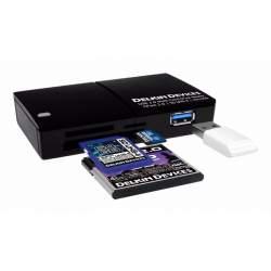 Atmiņas kartes - DELKIN CARDREADER CFAST & SD UHS-II USB 3.0 - ātri pasūtīt no ražotāja