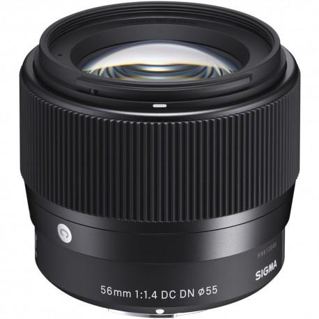 Objektīvi - Sigma AF 56MM F/1.4 DC DN (C) F/SE Sony E - ātri pasūtīt no ražotāja