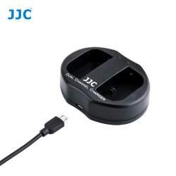 Lādētāji - JJC B-LPE6 USB Dual Battery Charger for Nikon Canon LP-E6, LP-E6N - perc šodien veikalā un ar piegādi