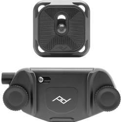 Siksniņas un turētāji - Peak Design kameras stiprināšanas klipsis Capture Clip V3, melns - perc šodien veikalā un ar piegādi