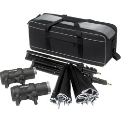 Portable Flash - Profoto D1 Studio Kit 250 Air D1 Studio kit, incl D1s, bag, stands and umbrellas - quick order from manufacturer