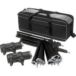 Portatīvās zibspuldzes - Profoto D1 Studio Kit 500 Air D1 Studio kit, incl D1s, bag, stands and umbrellas - ātri pasūtīt no ražotāja