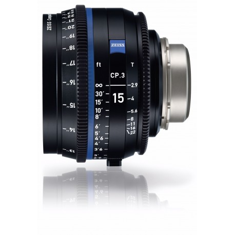 Lenses - ZEISS COMPACT PRIME CP,3 15MM T2,9 CANON EF - quick order from manufacturer