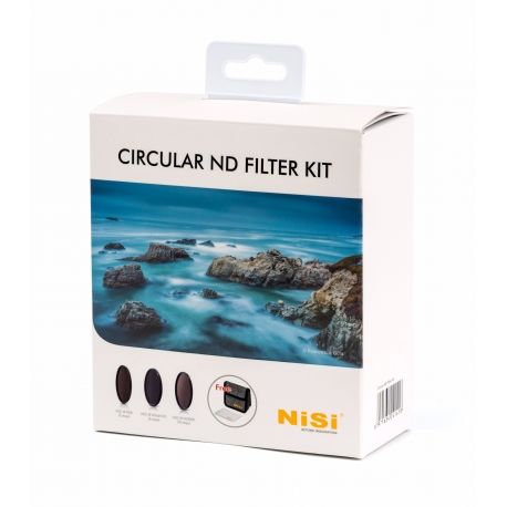 ND фильтры - NISI FILTER CIRCULAR ND KIT 67MM - быстрый заказ от производителя