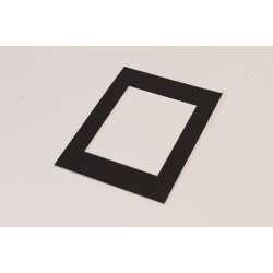 Dāvanas - FOCUS PASSEPARTOUT RECTANGULAR 20X30 BLACK - ātri pasūtīt no ražotāja