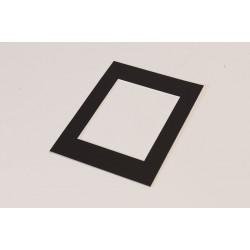 Dāvanas - FOCUS PASSEPARTOUT RECTANGULAR 30X40 BLACK - ātri pasūtīt no ražotāja