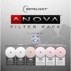 Reflektori - ROTOLIGHT REPLACEMENT FILTER PACK FOR ANOVA PRO - ātri pasūtīt no ražotāja